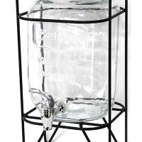 Стъклен диспенсър за напитки - 8 л