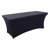 Бюфетна маса с черен еластан