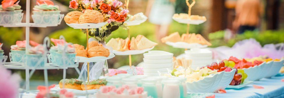 Кетъринг за важни събития като кръщене, бебешко парти или погача
