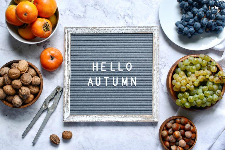 Сезонни храни през есента